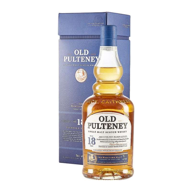 Whisky Old Pulteney 18 Anni SIngle...