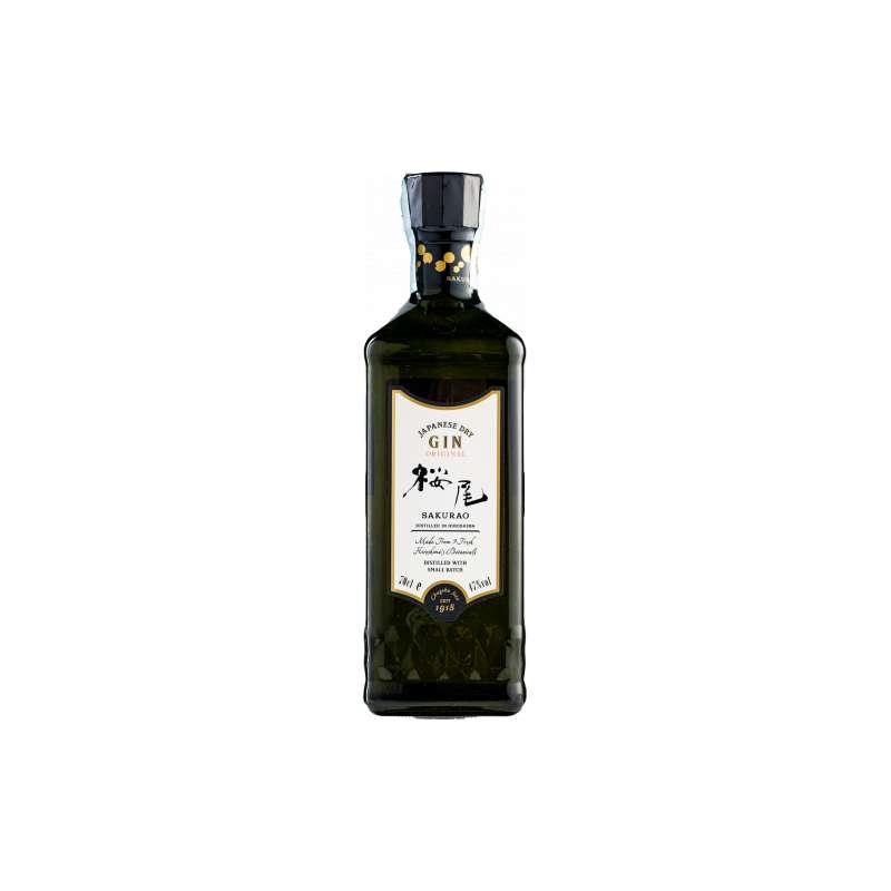 Sakurao Dry Gin Original Japanese 70 cl