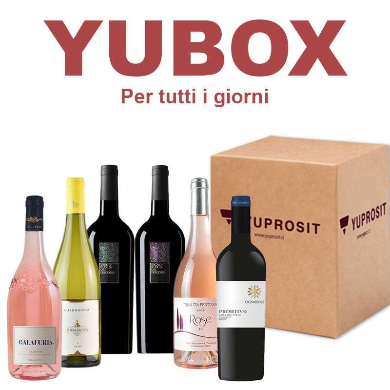 """Box Yuprosit """"Vino x tutti i giorni""""..."""