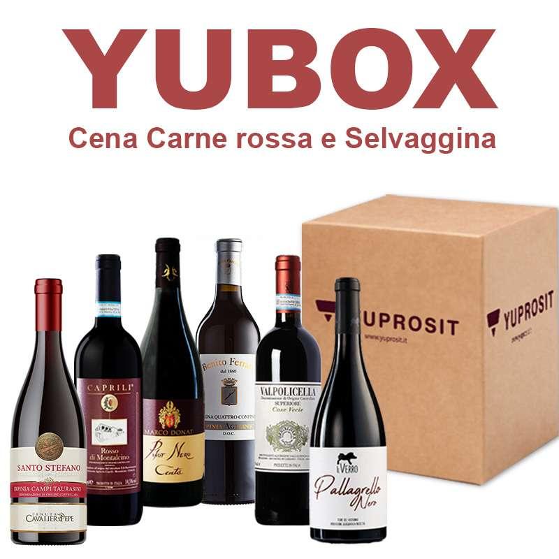 "Box Yuprosit ""Cena Carne rossa e..."