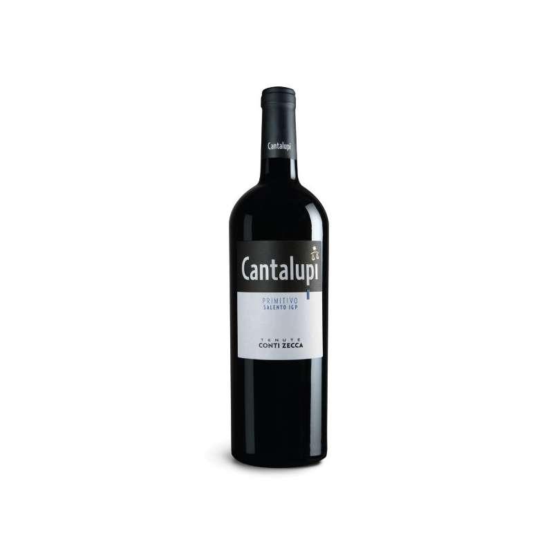 Cantalupi Primitivo IGP Salento Rosso 2017 - Conti Zecca